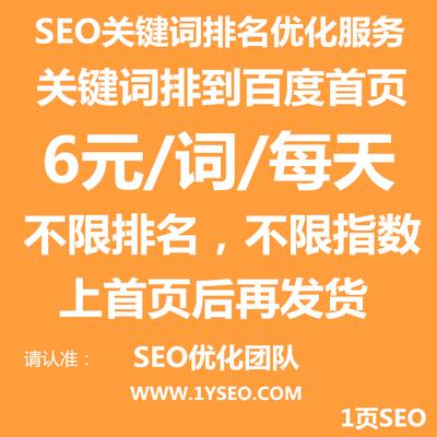 网站关键词优化seo优化排名服务按天扣费